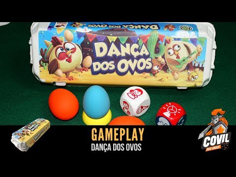 Covil dos Jogos - Gameplay Dança dos Ovos com Alan Farias