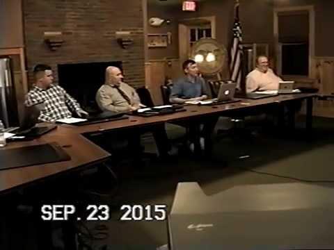 Tewksbury, MA: Finance Committee Public Meeting: September, 23, 2015: Part 4 of 4