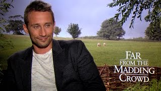 Matthias Schoenaerts Talks FAR FROM THE MADDING CROWD and Farming Boot Camp