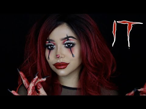 Download Youtube: IT Pennywise Girl Tutorial | Daisy Marquez