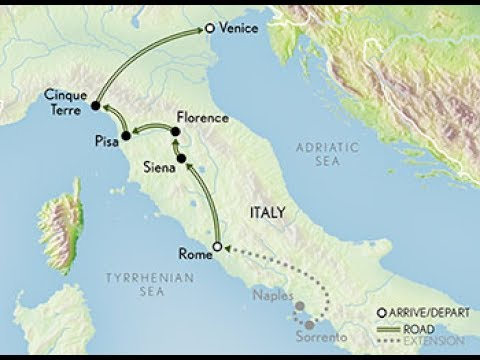 Essence of Italy,  Rome to Venice  June 2017