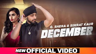 December (Official Video) | G Shera | Simrat Kaur | Latest Punjabi Song 2020 | Speed Records