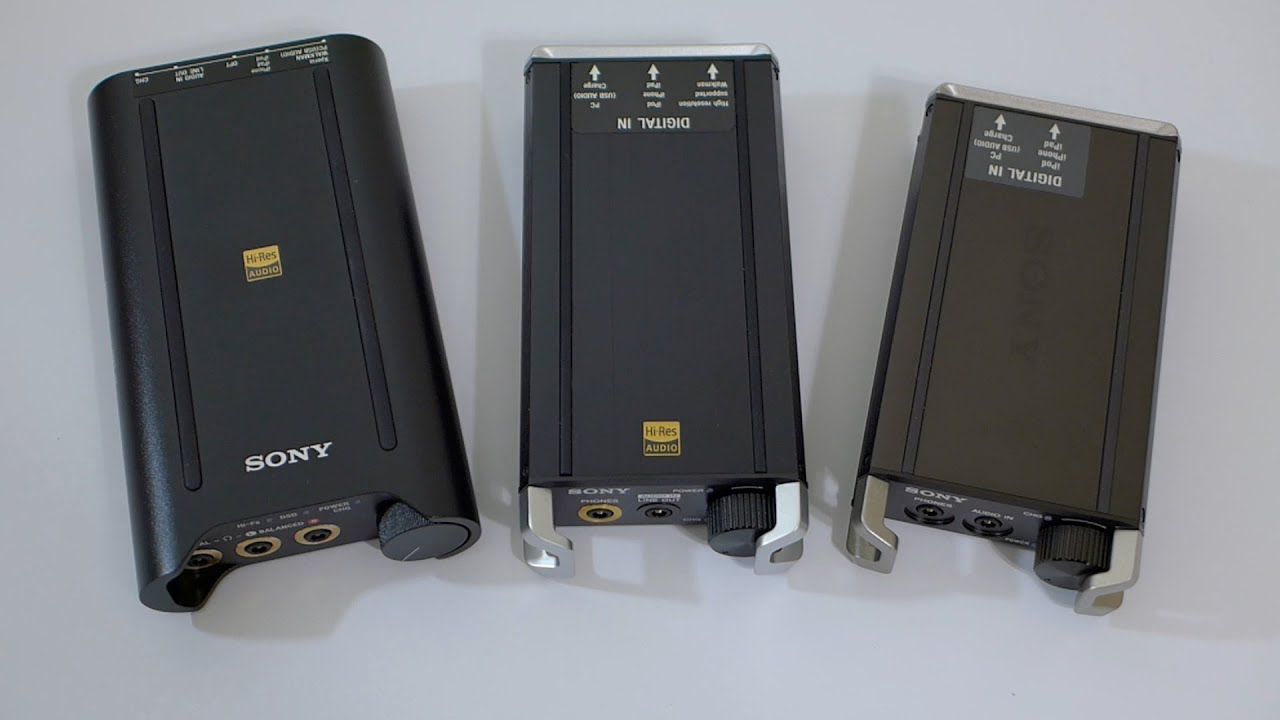 0db5decba70 NEW! Sony PHA 3 balanced portable DAC/amp - YouTube