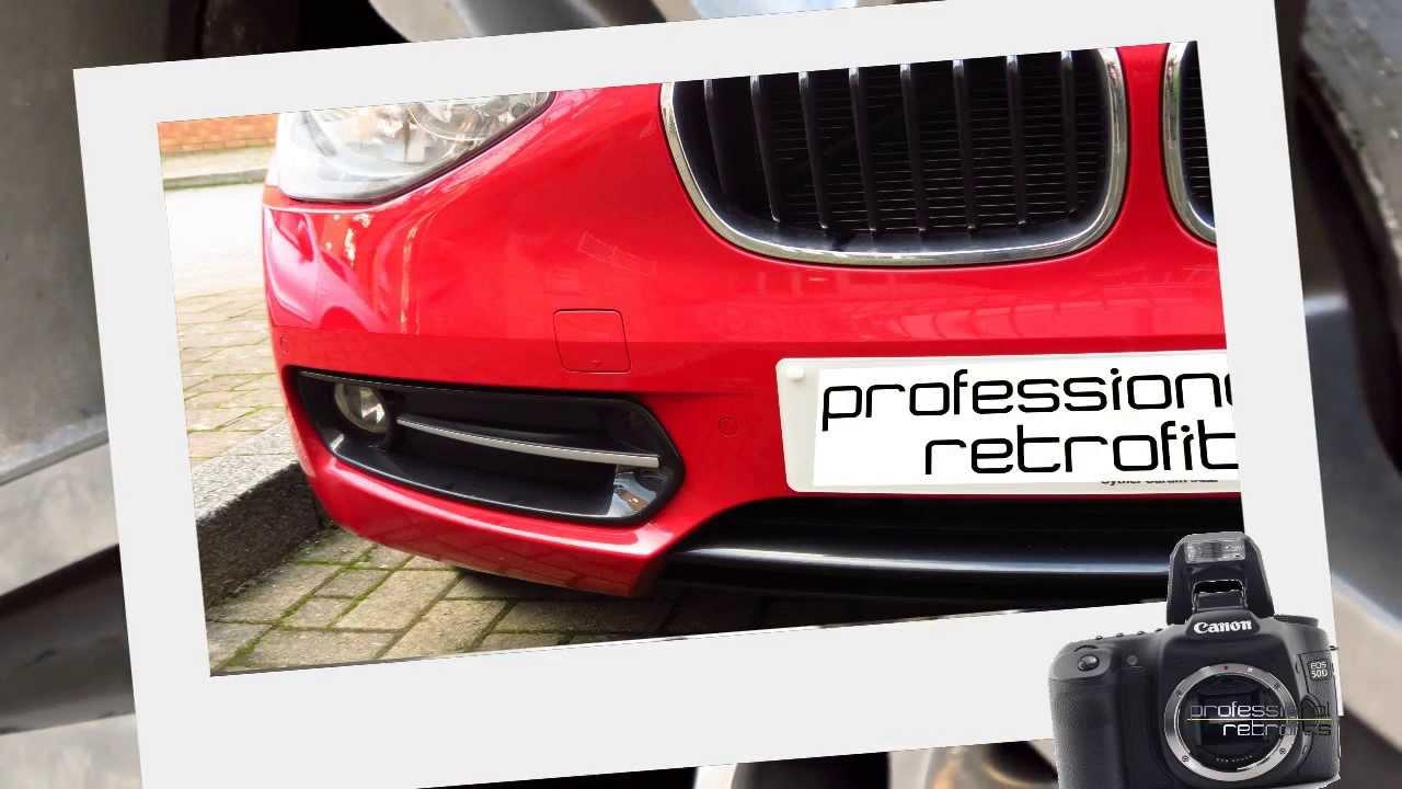 BMW front parking sensors f394