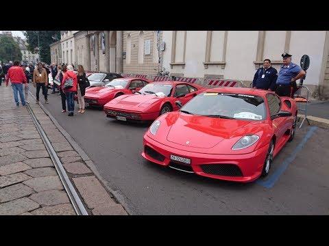 Zlot Ferrari - 33rd Raduno Internazionale Ferrari - Milano 2017