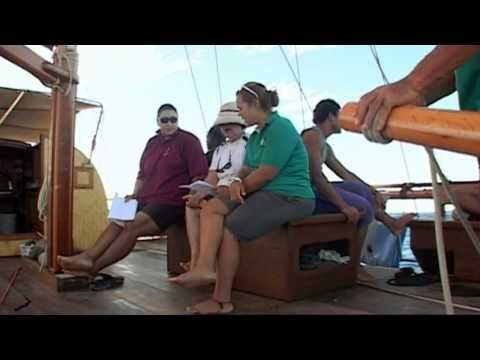 Pt 2 of 2 on a journey across the pacific ocean on board Vaka Hine Moana
