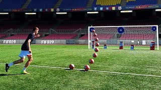 FIFA 19 SKILL GAMES In Real Life