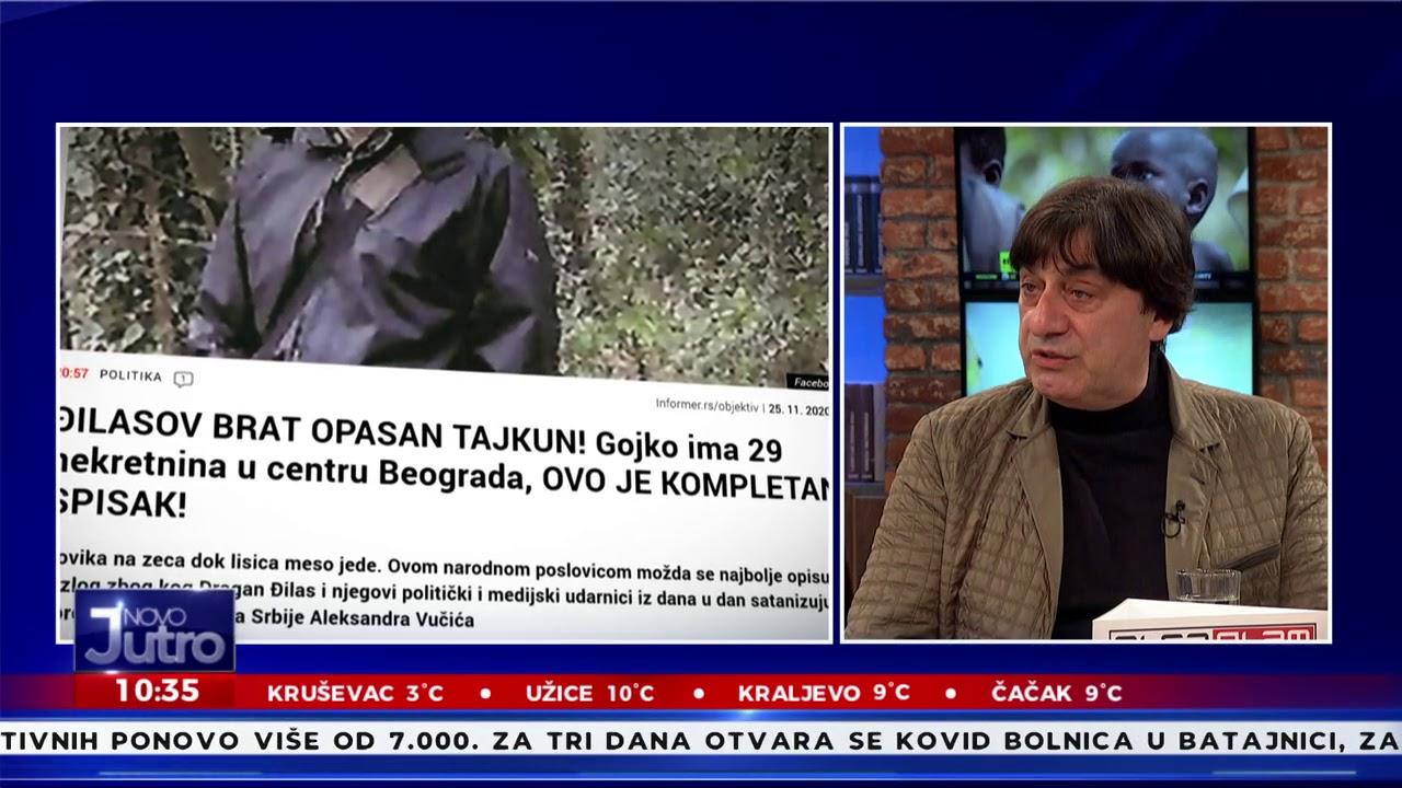 Novo jutro-Irena i Sarapa-Nemanja Starović,Predrag Jeremic,Darko Zlojutro-29.11.2020.