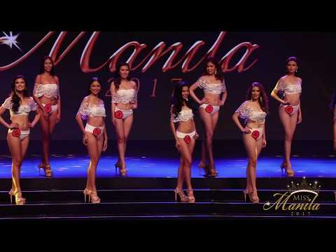 Miss Manila 2017 Coronation Night: Swimsuit Competition