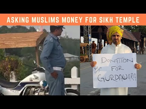 Asking Muslims Money For Sikh Gurdwara In Pakistan (SOCIAL EXPERIMENT) !!