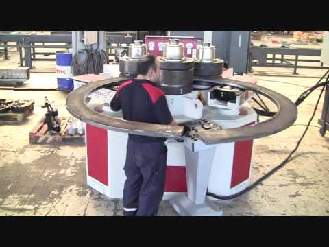 AKYAPAK AKBEND APK180 Profil Bükme Makinesi Test Videosu 2011
