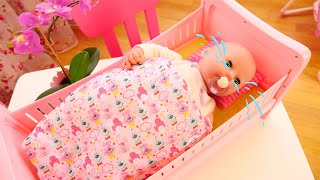 Нове ліжечко Бебі Бон для ляльки Бебі Анабель. Відео для дівчаток Як мама