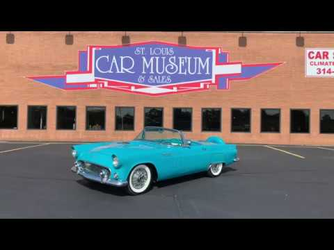 1956 Ford Thunderbird - FOR SALE At St. Louis Car Museum & Sales