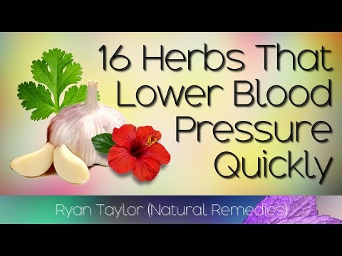 16 Herbs that Lower Blood Pressure (Naturally and Quickly)