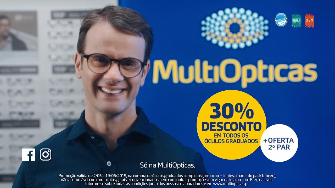 a6f622c49 MultiOpticas - Desconto 30% em todos os óculos graduados! - YouTube