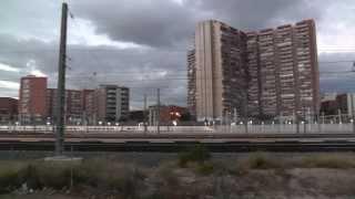 Железнодорожный Вокзал в Alicante, вид СЗАДУ,  Renfe Аликанте, видеоблогер Сергей Езовский(Мое Агентство Недвижимости