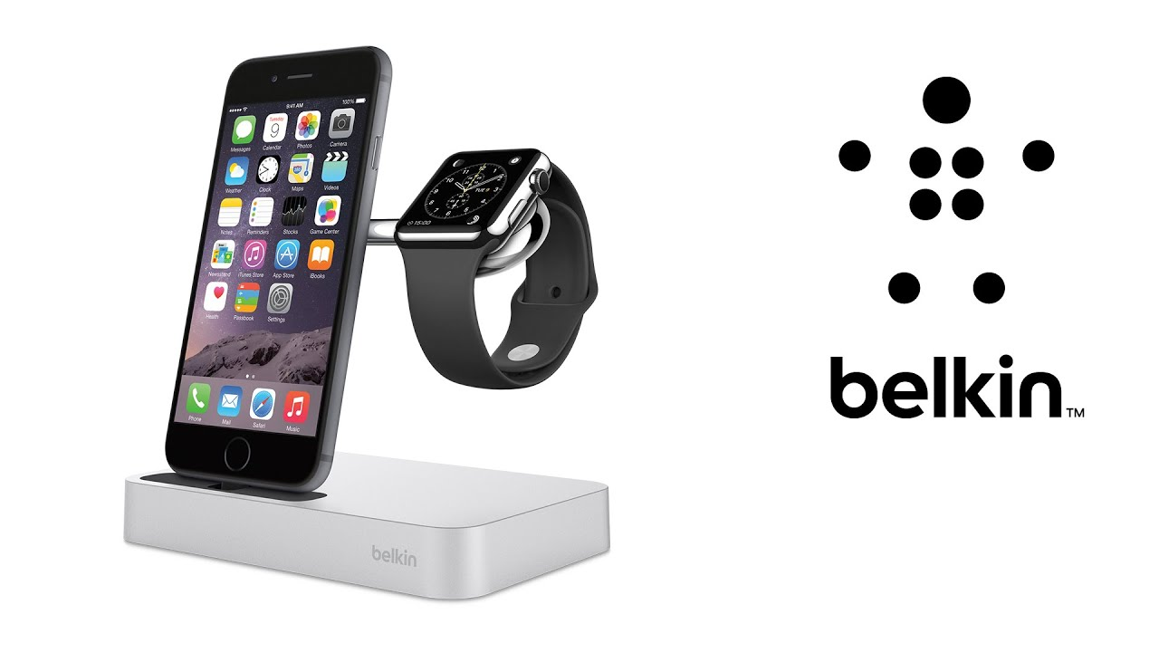 Station De Recharge Iphone Et Apple Watch