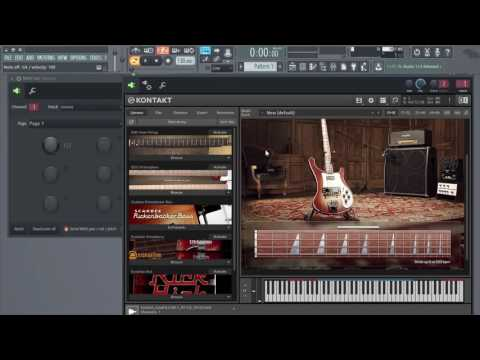 How To Make Scarbee Rickenbacker Bass Slides In FL Studio 12