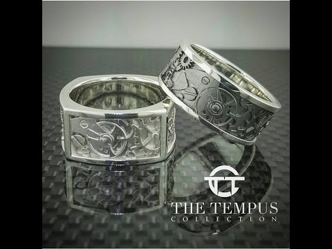 The Tempus Collection Watch Movement Ring: Jewelry for watch lovers!