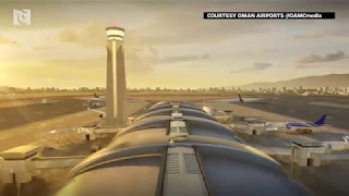 Walkthrough of the new international airport in Muscat, Oman