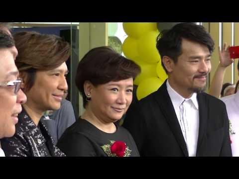 Arrival of Lam Ka Tung, Yip Sai Wing & Sheung Tin Ngor, Razak City Residences Sales Gallery 2017