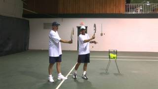 How To Play Tennis - Tennis Training: How To Hit Your Forehand With More Topspin!