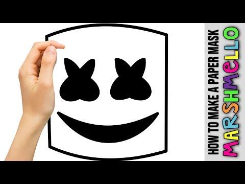 Marshmello Head Build ★ Marshmello Helmet Tutorial ★ Mask Turtorial Complete With Steps