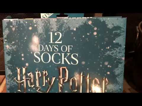 harry potter 12 days of socks day 8