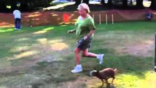 Dog Agility - Genie With Trainer & Grandma Suzanne F.