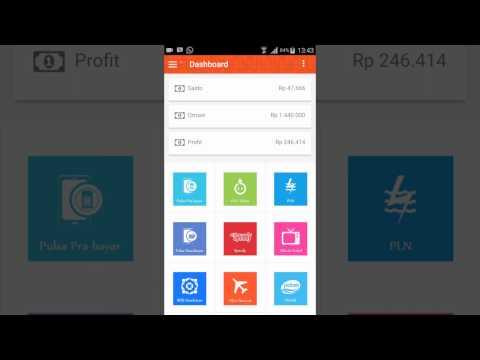 cara deposit taharrim melalui aplikasi android