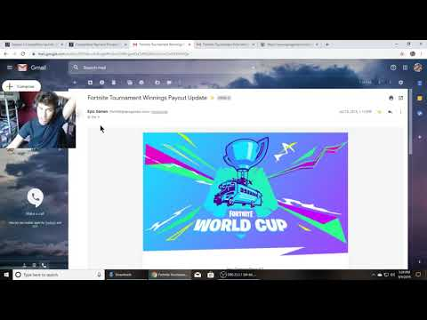 How To Collect Your Earnings From World Cup (Fortnite Competitive Payment)