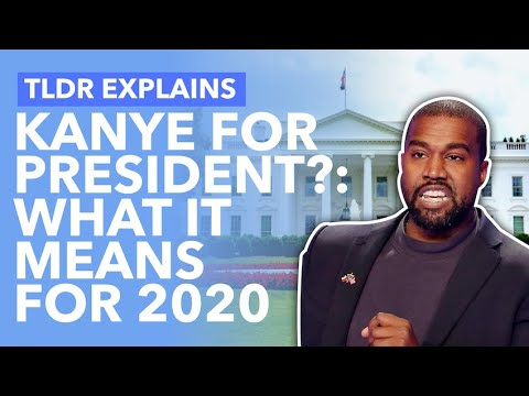 Kanye is Running for President? How It Impacts Trump, Biden & 2020 - TLDR News