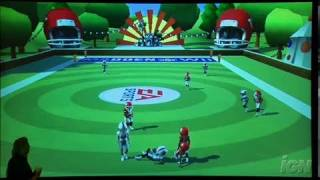 Madden NFL 09 All-Play Nintendo Wii Gameplay - 5 On 5