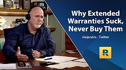 Why Extended Warranties Suck; Never Buy Them