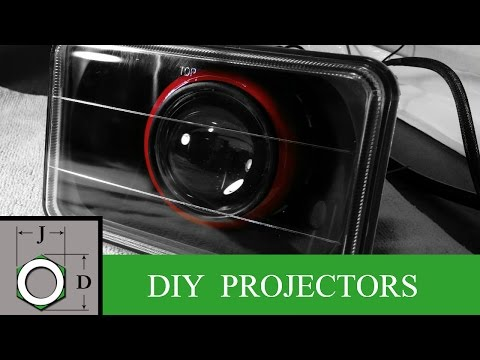 How To: Make Projector Headlights for Your Car