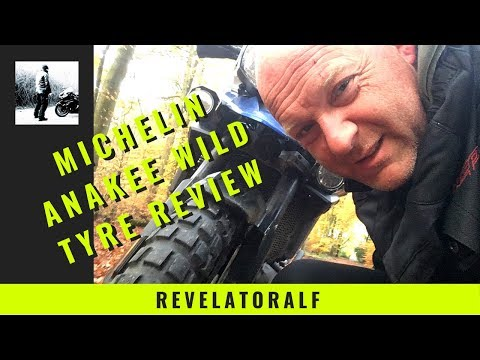 Michelin Anakee Wild Motorcycle Tyre Review