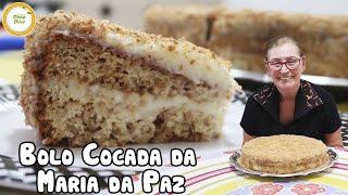 BOLO COCADA DA MARIA DA PAZ | Vamos fazer este BOLO COCADA DA NOVELA juntas..?? #394