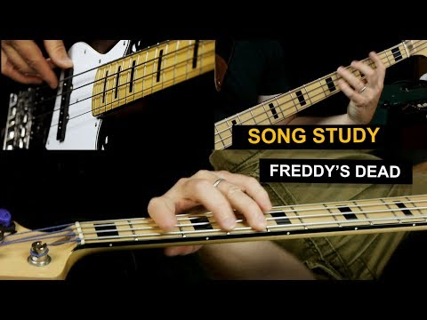 Freddie's Dead bass guitar lesson - Curtis Mayfield - Superfly