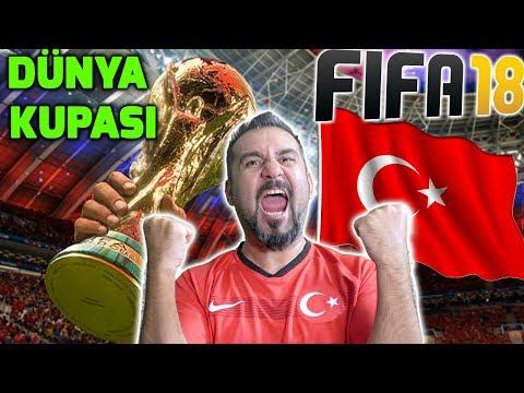 TÜRKİYE İLE FIFA 18 DÜNYA KUPASI MODU! | WORLD CUP RUSSIA #1