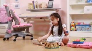 видео Купить стул для школьника ортопедический Mealux Nobel Y-517 SKY