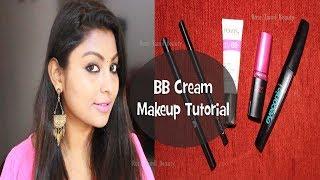 Easy Makeup using BB Cream | Tamil Makeup Tutorial | Rose Tamil Beauty & Makeup