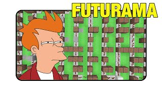 "Futurama ""Opening Short Version"" - Minecraft Xbox 