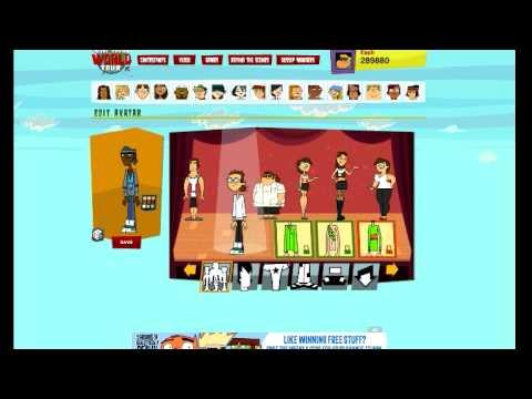 Total Drama Online Avatar Builder Youtube