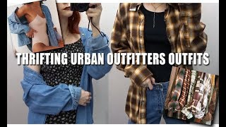 THRIFTING URBAN OUTFITTERS OUTFITS