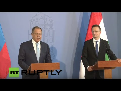 LIVE: Lavrov to take part in ministerial meetings in Budapest