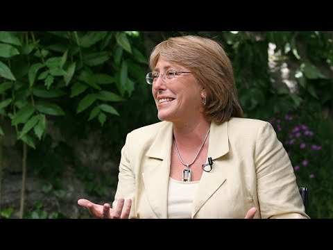 A Conversation with Michelle Bachelet