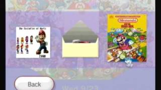 Custom Wii Menu - Mario