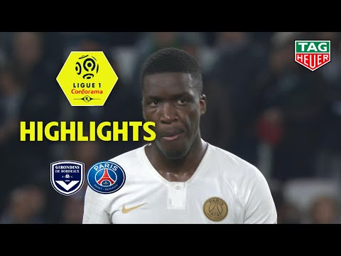 Girondins de Bordeaux - Paris Saint-Germain ( 2-2 ) - Highlights - (GdB - PARIS) / 2018-19