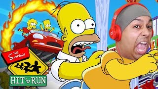GTA BUT NOT REALLY CAUSE IT'S THE SIMPSONS! [THE SIMPSONS: HIT AND RUN]