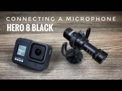 Connecting A Microphone to Hero 8 Black | Microphone Adapter